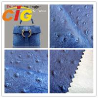 Buy cheap Modern high quality Popular customized bags artificial leather material Ostrich embossed from wholesalers
