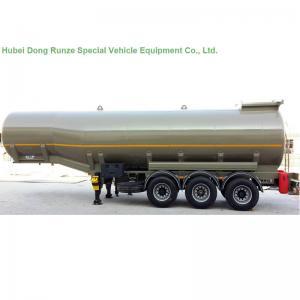 Quality Aluminium Alloy 47000L Tank Semi Trailer For Oil , Diesel , Gasoline , Kerosene Delivery wholesale
