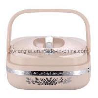 Quality Heat Insulation Food Container, 2.4l Capacity, Steel Liner wholesale