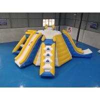 Quality Multifunction Inflatable Water Tower For Lake Park 0.9mm PVC Tarpaulin Material wholesale