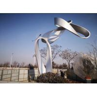 Quality Stainless Steel Large Metal Art Sculptures , Outdoor Metal Sculpture wholesale