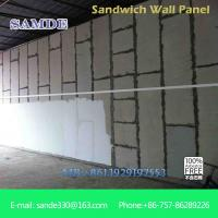 China Light weight precast concrete wall panels machine eps board for prefabricated wall panel on sale