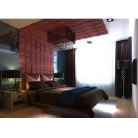 Cheap Eco-Friendly 3D Natural Fiber Wallpaper MDF Wallpaper  for Home Wall Decoration for sale