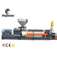 China Conical Twin Screw Extruder Pvc / Plastic Pvc Extruder Machine Compact Configuration on sale