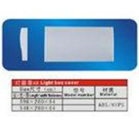 Quality Environmental Protection ABS / HIPS Refrigerator Replacement Part Light Box Cover With OEM wholesale