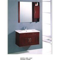 Quality Sanitary ware Solid Wood Bathroom Cabinet modern Feature 80 X 47 / cm wholesale