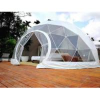 Quality 4M Garden Igloo Geodesic Dome Tent , Outdoor Geodesic Event Dome House Tent wholesale
