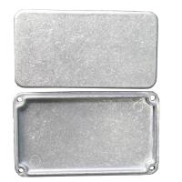 China IATF 16949 Certified Die Cast Aluminum Enclosure with Stone Vibration Surface on sale