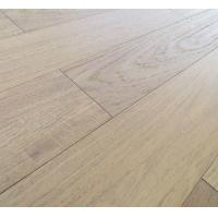 slight brushed Teak engineered hardwood flooring with natural matt finishing