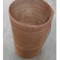 Quality Decorative Crimped Brass/Coper Wire Mesh Used Almost Exclusively Indoors, Resistant to acid, alkali, wear, corrosion. wholesale