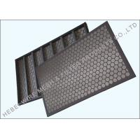 Quality Flat Oil Vibrating Sieving Mesh Screen SUS 304 Raw Material Dual Layer wholesale