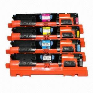 China Re-manufactured Color Toner Cartridge C9700A BK for HP LaserJet 1500/2500 on sale