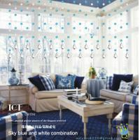 Quality CU132 Crystal Handsome Pvc Sheet Curtain wholesale