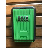 Quality Waterproof Outdoor Combination Lockbox For Keys Black And Green wholesale