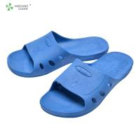 China Cleanroom Anti static unisex gender anti slip ESD spu sandal slippers for food factory on sale