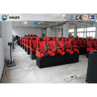 Quality Animation 5D Digital Theater System Simulator With Stimulating Electric Motion Seats wholesale