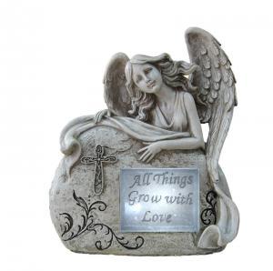 Quality Customized Classical Angel Love Garden Solar Light Ball For Garden Ornaments wholesale