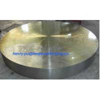 Quality Tube Sheet Double Stainless Steel Forged Disc 1.4462, F51, S31803; F60, S32205; F53, S32750 wholesale