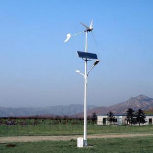 China wind solar hybrid street light on sale
