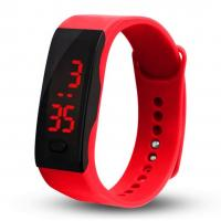 Quality Colorful Silicone Bracelet Watch Waterproof Customized Brand For Sport wholesale