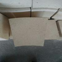 Quality Fan Shaped High Alumina Refractory Brick , Rotary Kiln High Temp Bricks wholesale