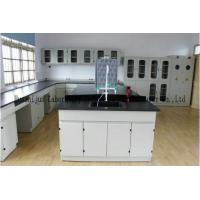 Quality Chemical Resistant Chemistry Lab Furniture C / H Frame Cold - Rolled Steel Body wholesale