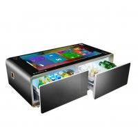 China Wireless Charging Interactive Touch Screen Table Android System 178° Viewing Angle for sale