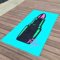 Cheap Custom Sexy Lips Sticks Large Advertising Promotional Beach Towel Betsey for sale