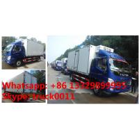 Quality FOTON Aoling 3tons 4*2 LHD refrigerator truck for sale, best price and high quality FOTON Aoling cold room truck wholesale