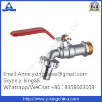 """Quality 1/2""""-1"""" Brass Ball Bibcock (faucet, water tap) with Nozzle wholesale"""