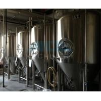 Quality beer brewing equipment/dimple plate jacketed beer fermenter, bright beer tank 100-3000L wholesale