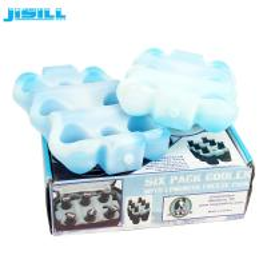 China Custom Reusable 6 Pack Beer Bottle Cooler Holder For Drink Cooling on sale