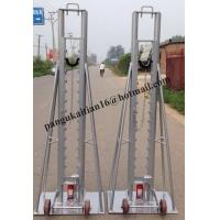 Quality Mechanical Drum Jacks,Cable Drum Trestles,Made Of Cast Iron wholesale