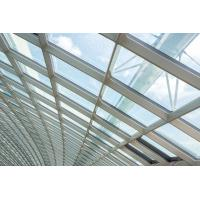 Quality 3.0MM Building Glass Curtain Wall Residential Tightness Powder Coating wholesale