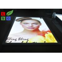 Quality Aluminum LED Snap Frame Light Box With Ceiling Hanging Bracket For Menu Display wholesale
