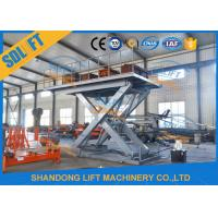 Buy cheap Easy Operation Vehicle Scissor Lift Car Lifts For Home Garage Multi Color from wholesalers
