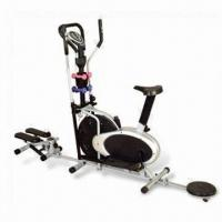 Quality Elliptical Trainer with Multi Functions, Includes Dumbbell, Mini Stepper and Waist Trimmer Disc wholesale