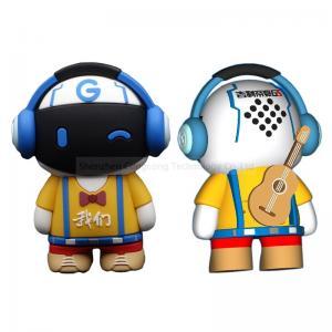 Quality Mini 3W portable cute cartoon wireless bluetooth speaker with super bass sound Customized wholesale