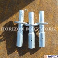 Height 300mm Wedge Lock Scaffolding SystemStarting Base Collar Silver Galvanized