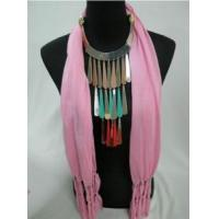 China 2012 New Lady Jewelry Pendant Scarf on sale