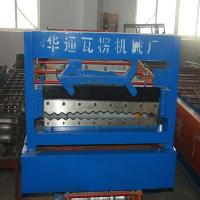 Quality 850 Color Steel Corrugated Roll Forming Machine For Roof Tile Making Machine wholesale