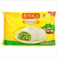 China Dumplings Frozen Food Packaging Bag / organic chinese food packaging on sale