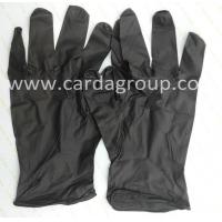 Buy cheap Black Nitrile Gloves from wholesalers