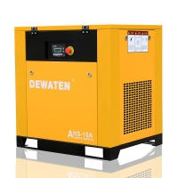 China China good price stationary 10hp 7.5kw screw air compressor 8bar on sale