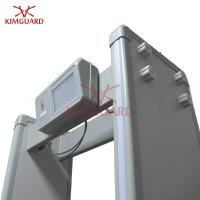 Buy cheap Multi-zone Walk Through Metal Detector , Touch screen metal detector 256 Levels from wholesalers