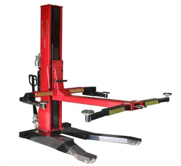 Single Hydraulic Automotive Lifts : Cheap single post mobile car lift mm of xc carlift com