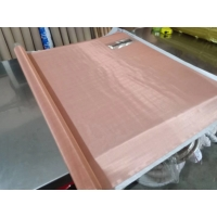 99.9% Pure Copper Weave Wire Mesh Shielding Material 400mesh Wear Resistance for sale