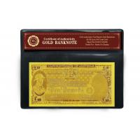 Quality 24k Gold Banknote with 10 COMMON WEALTH OF AUSTRALIA for sale