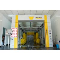 Quality Fully Automated Car Wash Tunnel Systems Wash Speed 60-80 Cars / Hour wholesale