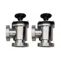 Quality Ultra High Vacuum Angle Valve  1E+5 Pa - 1.3E-7 Pa Application Range wholesale
